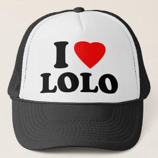I Love Lolo Trucker Hat