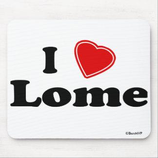 I Love Lome Mouse Pad