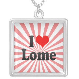 I Love Lome, Togo Personalized Necklace