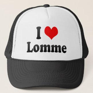 I Love Lomme, France. J'Ai L'Amour Lomme, France Trucker Hat