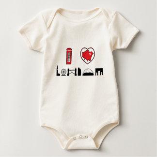 I Love London Baby Bodysuit
