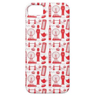 I Love London - British Symbols iPhone SE/5/5s Case