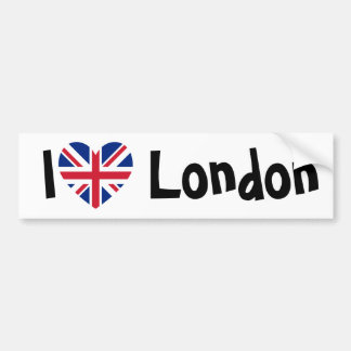 I Love London Bumper Sticker
