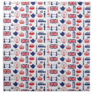 I Love London - Everything London Napkin