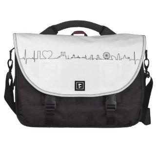 I love London (extraordinary ecg style) souvenir Bag For Laptop