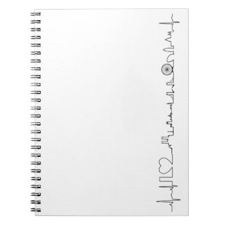 I love London (extraordinary ecg style) souvenir Notebooks