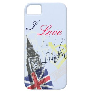 I love London iPhone5 cases iPhone 5 Cover