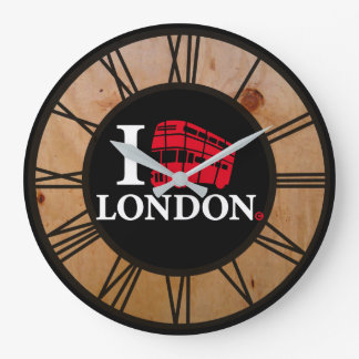 I Love London Limited Edition Large Clock