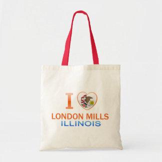 I Love London Mills, IL Bags