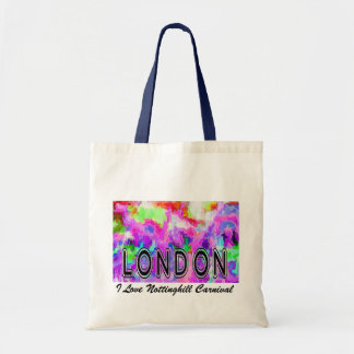 I Love London Nottinghill Carnival bag