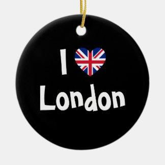 I Love London Ornament