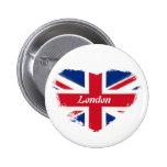 I love London Pinback Button