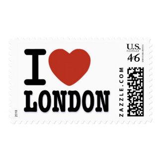 I LOVE LONDON POSTAGE STAMPS