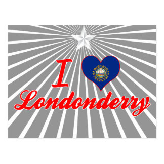 I Love Londonderry New Hampshire Post Cards