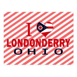 I love Londonderry Ohio Postcards