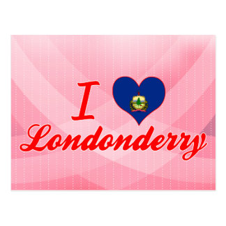 I Love Londonderry Vermont Post Cards