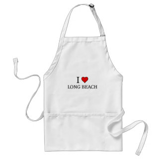I love Long Beach Adult Apron