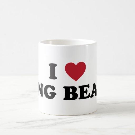 I Love Long Beach California Coffee Mug