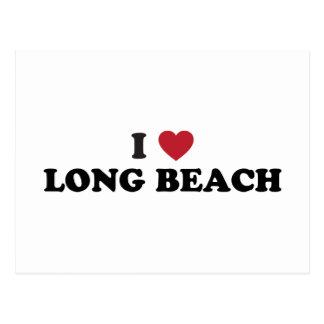 I Love Long Beach California Postcard