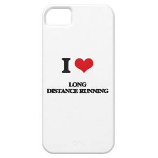 I Love Long Distance Running iPhone 5 Covers