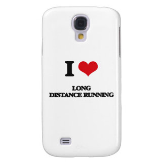 I Love Long Distance Running Samsung Galaxy S4 Case