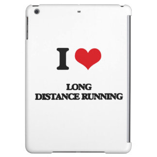 I Love Long Distance Running Case For iPad Air