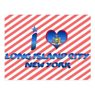 I love Long Island City, New York Postcard
