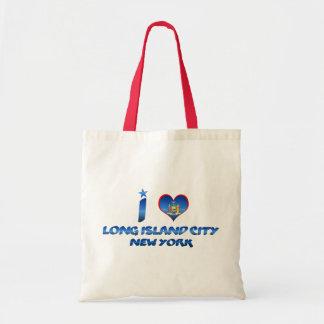 I love Long Island City, New York Tote Bag