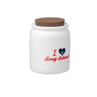 I Love Long Island, Maine Candy Jar