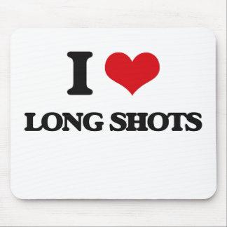 I Love Long Shots Mousepads