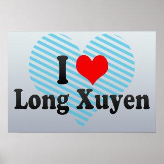 I Love Long Xuyen, Viet Nam Poster