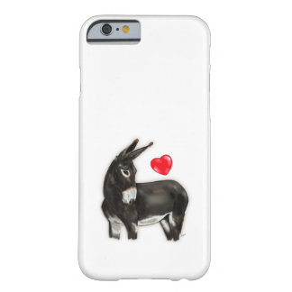 I Love Longears Demure Donkey Barely There iPhone 6 Case