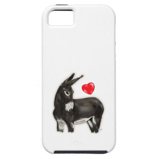 I Love Longears Demure Donkey iPhone 5 Case