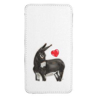 I Love Longears Demure Donkey Galaxy S4 Pouch