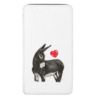 I Love Longears Demure Donkey Galaxy S5 Pouch