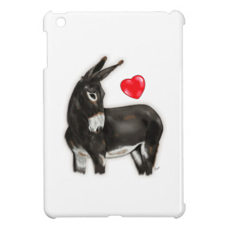 I Love Longears Demure Donkey Cover For The iPad Mini