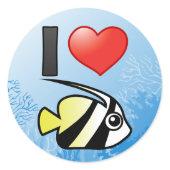 I Love Longfin Bannerfish