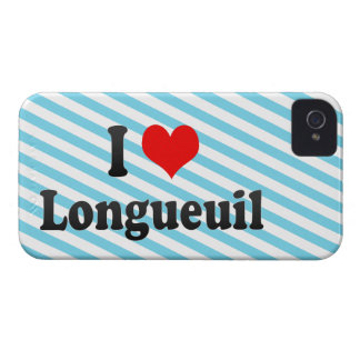 I Love Longueuil, Canada Case-Mate iPhone 4 Cases