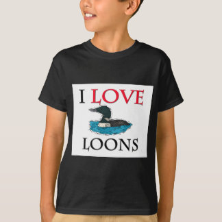 I Love Loons T-Shirt