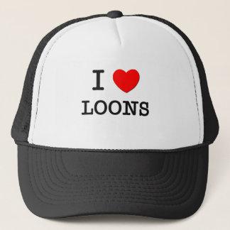I Love LOONS Trucker Hat