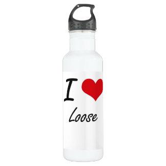 I Love Loose 24oz Water Bottle