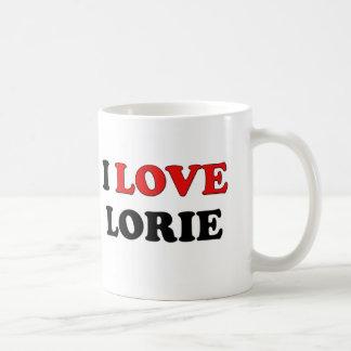 I Love Lorie Coffee Mugs