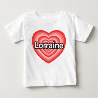 I love Lorraine. I love you Lorraine. Heart Infant T-shirt