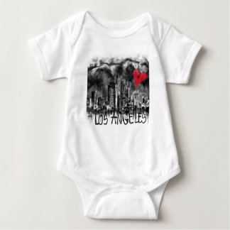 I love Los Angeles Baby Bodysuit