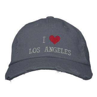 I LOVE LOS ANGELES BASEBALL CAP