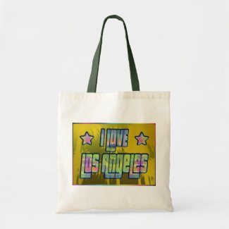 I LOVE Los Angeles Beautiful Shade Tote Bag