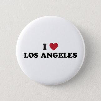 I Love Los Angeles Button