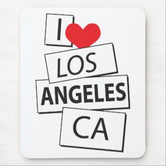 I Love Los Angeles CA Mouse Pad