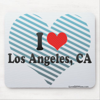 I Love Los Angeles, CA Mouse Pad