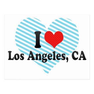 I Love Los Angeles, CA Postcard